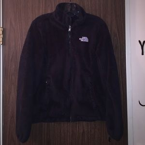 North face jacket hoodie