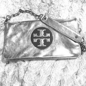 Tory Burch large clutch handbag