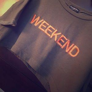 Crop Top • weekend shirt
