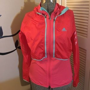NWT Adidas runners Climaproof Wind jacket