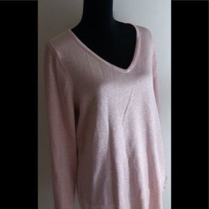 Avenue Sweater Collection Pink Glittery