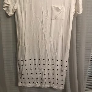 Cute and comfy t-shirt dress NEVER WORN
