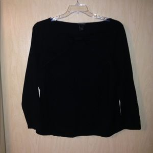 Lane Bryant sweater with neck detail