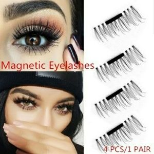 Other - 1 pair / 4 pieces magnetic false eyelashes
