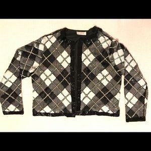 Women's sequin elegant jacket