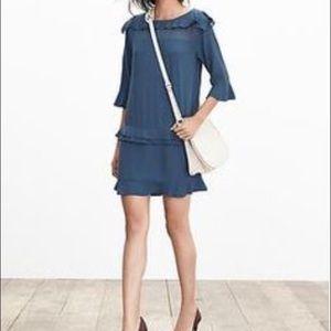 BR size 2 Ruffle Tier Dress