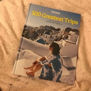 """""""100 Greatest Trips"""" Hardcover"""