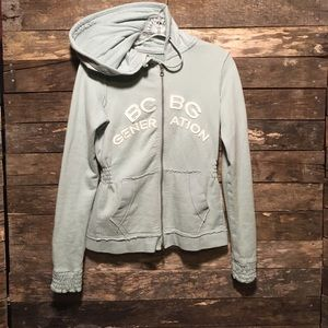 BCBG Generation Full Zip Hoodie Jacket