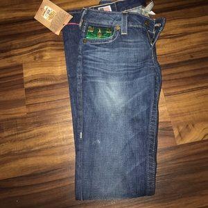 NewTrue religion skinny flare jeans size 26