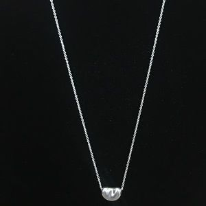 Tiffany & Co. Elsa Peretti Bean Pendant Necklace