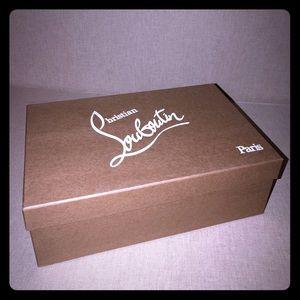 Christian Louboutin collectible shoe box