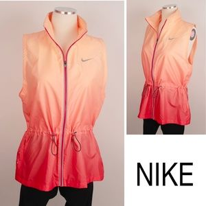 NEW Running Gradient Ombre Dri-Fit Coral Vest 401