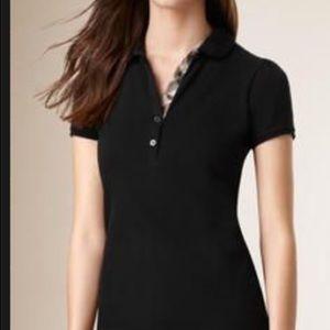 Burberry classic black polo shirt