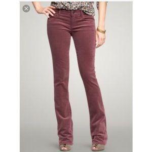 Gap • Skinny boot corduroy pants