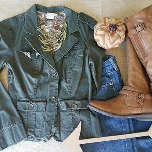 Stylish Green Blazer