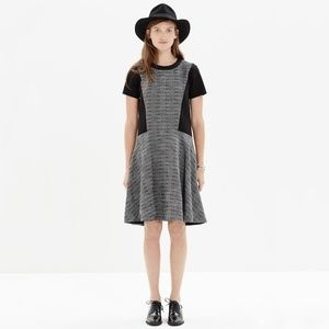Madewell Textured Tribune Shift Dress