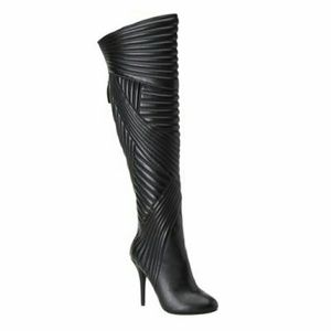Nine West skyhigh dress boots black