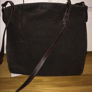 Dooney & Bourke Bags - Dooney & Bourke brown suede satchel