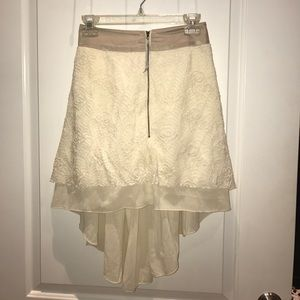 Gorgeous NWOT high-low skirt!