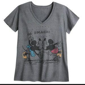 Disney store minnie mickey tee