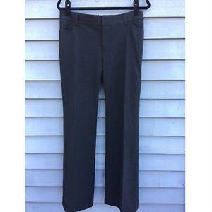 Gap Gray Curvy Stretch Trousers Pants Size 10