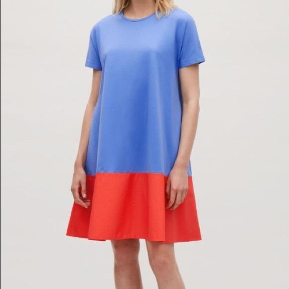 90c6b90b76b6 COS Dresses | Contrast Panel Dress | Poshmark