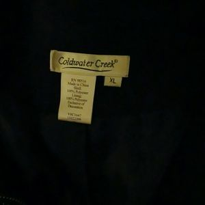 Coldwater Creek Jackets & Coats - Goldwater Creek embroidery jacket