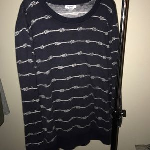 Navy Nautical sweater