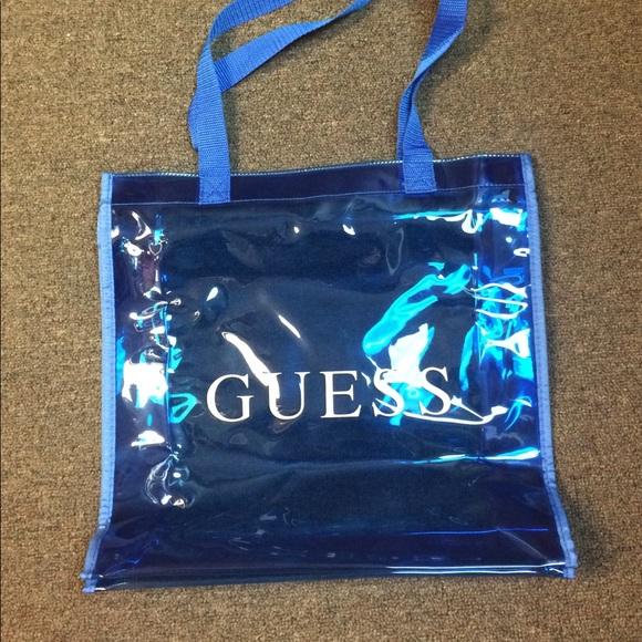 199d06a926a3 Guess Handbags - Guess Brand blue