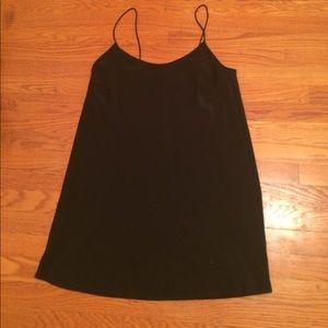 A short black simple dress