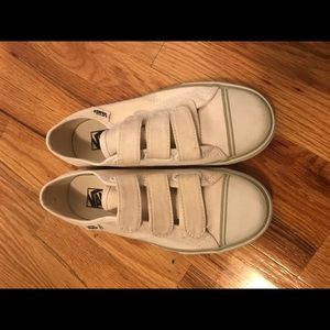 ec317cd6b398 Vans Shoes - Vans prison issue  23 true white strap size 6 4.5
