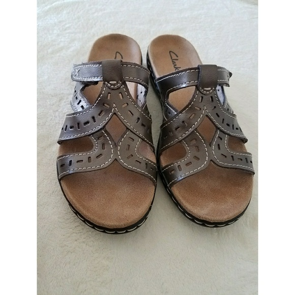 d4596ad8f399 Clarks Shoes - Clarks Womens Brown Leather Leisa Truffle Sandals