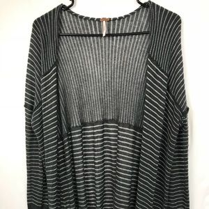 Free People Large Tall Duster Cardigan SMALL HOLE