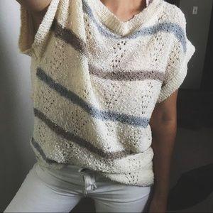 VINTAGE/ cozy casual knit