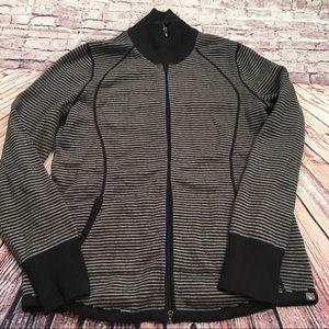 Eddie Bauer Full Zip Up Sweater