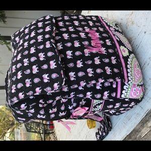 VERA BRADLEY HUGE BACKPACK TRAVEL BAG