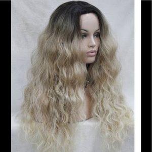 Hippie bohemian hippie chic ombré wig