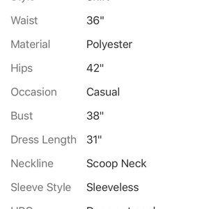 Zara Dresses - ZARA W&B MULTI-COLOR SLEEVELESS DRESS SIZE LARGE