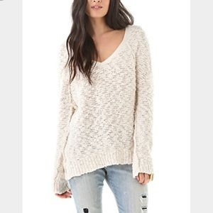Free People Songbird Pullover Sweater