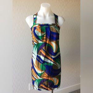 Madewell--Eliot Pattern Shift Dress (M)