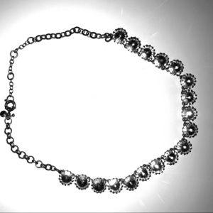 Faux diamond jcrew necklace