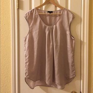 Gap Silky Pleated Dressy Top