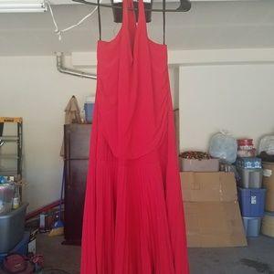 Dresses & Skirts - Red halter dress