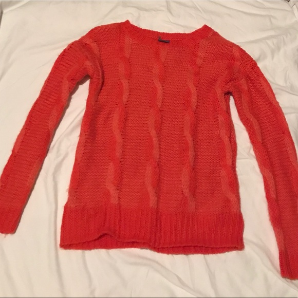 65% off Sparkle & Fade Sweaters - UO Fun red sweater- braided ...