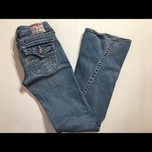 "True Religion ""Becky"" Jeans Size 27"""