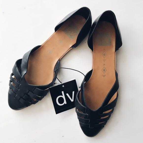 dbfd1c8688fe9 dv Raven D'Orsay Flats NWT