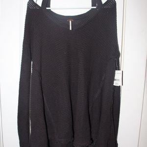 Free People Moonshine V-Neck Sweater