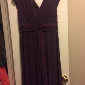Suzi Chin for Maggy boutique purple dress