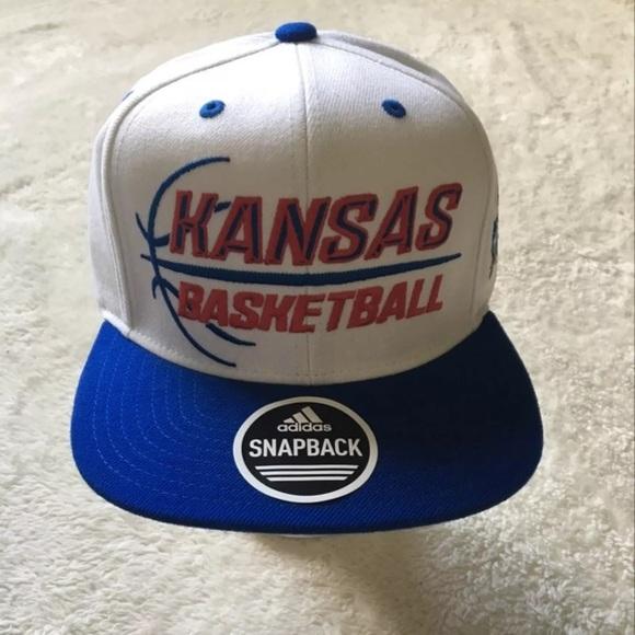 adidas Other - Kansas University KU Jayhawks SnapBack Hat New 44e385c5b614