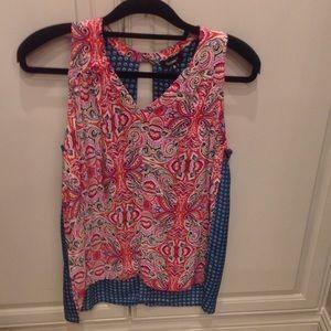 Sleeveless tolani blouse